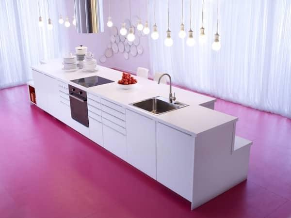 cuisine ikea blanche